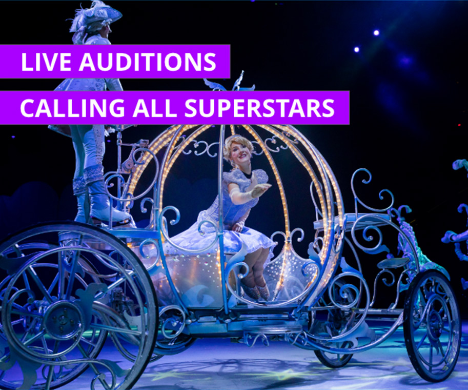 Calling All Superstars - Live Auditions